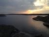 Utsikten mot Molløsund fra Restauranten Bryggvingen på Lyr