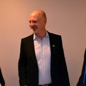 Marie Loe Halvorsen, meg og Øyvind Solum, listetopp for Akershus MDG